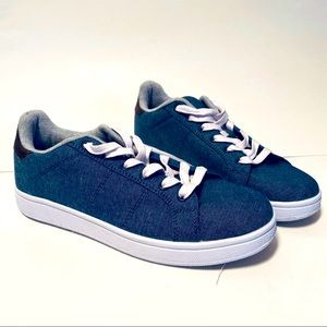 Konkrete Sneakers Blue Jeans Shoes